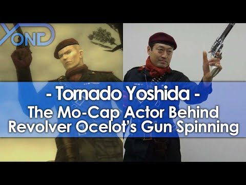 The Mo-Cap Actor Behind Revolver Ocelot