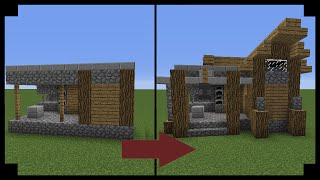 minecraft blacksmith village upgrade