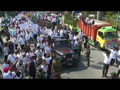 Aksi Damai PCNU Kab. Tegal tolak FDS 2017