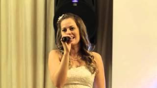 Трогательная песня мужу на свадьбе