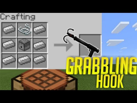 How To Make A Grabbling Hook In Minecraft