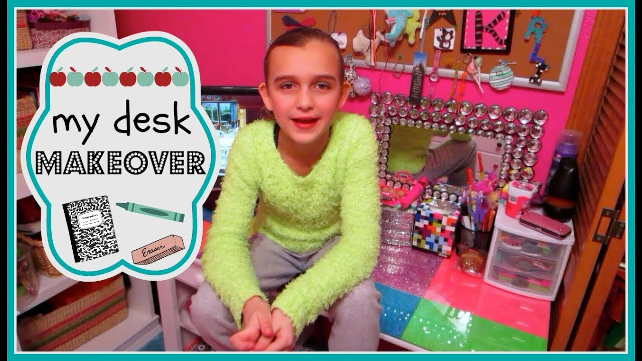 Diy project easy cheap desk makeover youtube for Cheap things to build