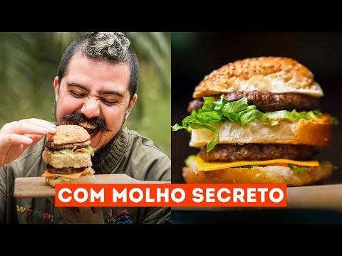 BIG MAC COM MOLHO ESPECIAL DO MCDONALD'S EM CASA | RECEITA COMPLETA
