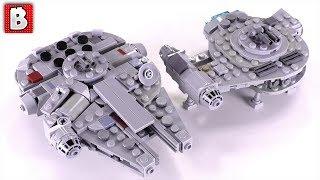 LEGO Millennium Falcon & Outrider Custom Micro
