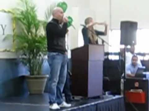 Armando Christian Perez aka Pitbull 1st Visit to Mater Academy