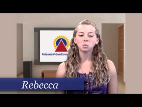 AZ Talent - Video Presenter - Rebecca