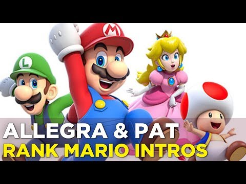 Pat and Allegra Watch and Rank Every Mario Intro
