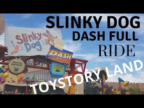 SLINKY DOG DASH FULL RIDE | TOYSTORY LAND | WALTDISNEY WORLD