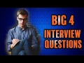 Big 4 Interview Questions - Change Agility 📝