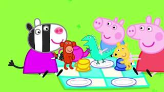 #Peppa Pig Picnic *** #Puzzle For #babies #toddlers #kids