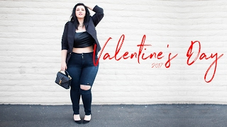 VALENTINES DAY | Plus Size Fashion Lookbook