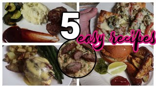 5 Easy and Delicious Recipes!
