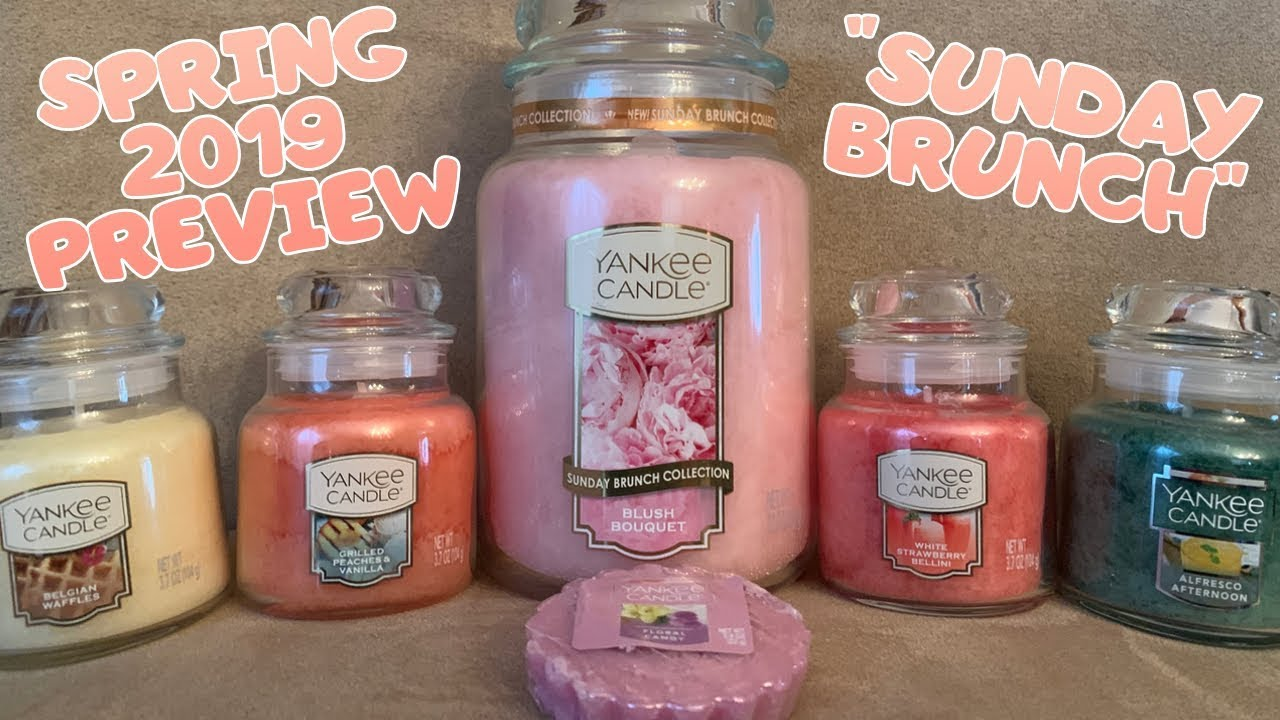 NEW Yankee Candle Spring 2019 Preview & 50th Anniversary Information |  Spring 2019