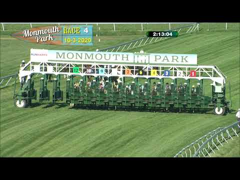 video thumbnail for MONMOUTH PARK 10-3-20 RACE 4