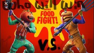 Fortnite   Durr Burger vs tomato Temple  givaway   description update   Thumbnail   More