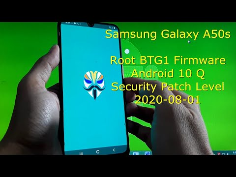 How to Root Samsung Galaxy A50s BTG1 Firmware Android 10