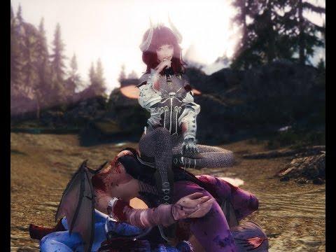 Skyrim Mod Review 25 - Tentacle Rape Estrus and Japanese