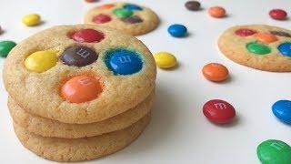 M&M Cookies Recipe | Resepi Biskut M&M