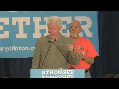 FULL SPEECH: Bill Clinton speaks in Belle Glade