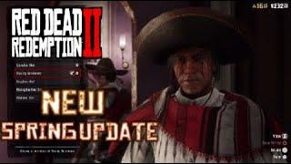 NEW SPRING UPDATE!! Red Dead Redemption 2 Online