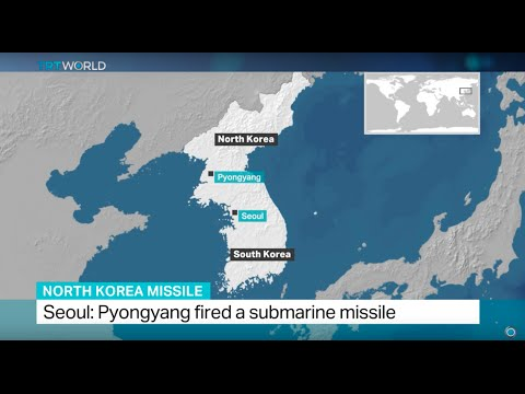 Seoul says Pyongyang fired a submarine missile