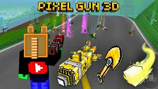 BIG BOMB & GOLDEN SHOVEL Epic Win Pixel Gun 3D BATTLE ROYALE