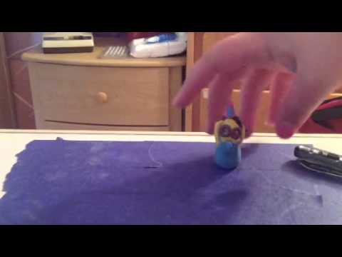 Polymer Clay Party Elvis Minion Youtube