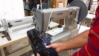 Techsew 5100 industrial sewing machine - sports equipment repair