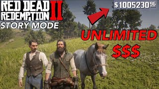 Red Dead Redemption 2- UNLIMITED MONEY GLITCH (STORY MODE)