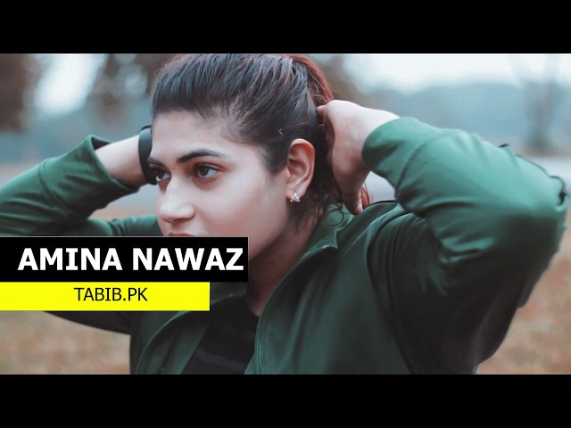 Amina Khan Personal Fitness Trainer in Islamabad - Fitness Motivation Video by Tabib.pk