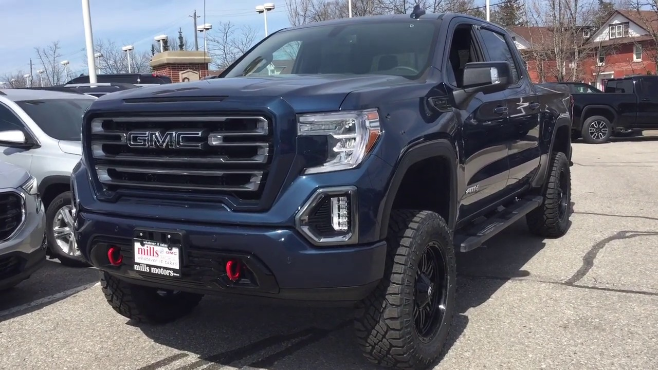 Lifted 2019 Gmc Sierra 1500 4wd At4 6 Inch Rough Country Lift Fuel