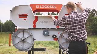 Logosol B751 band sawmill