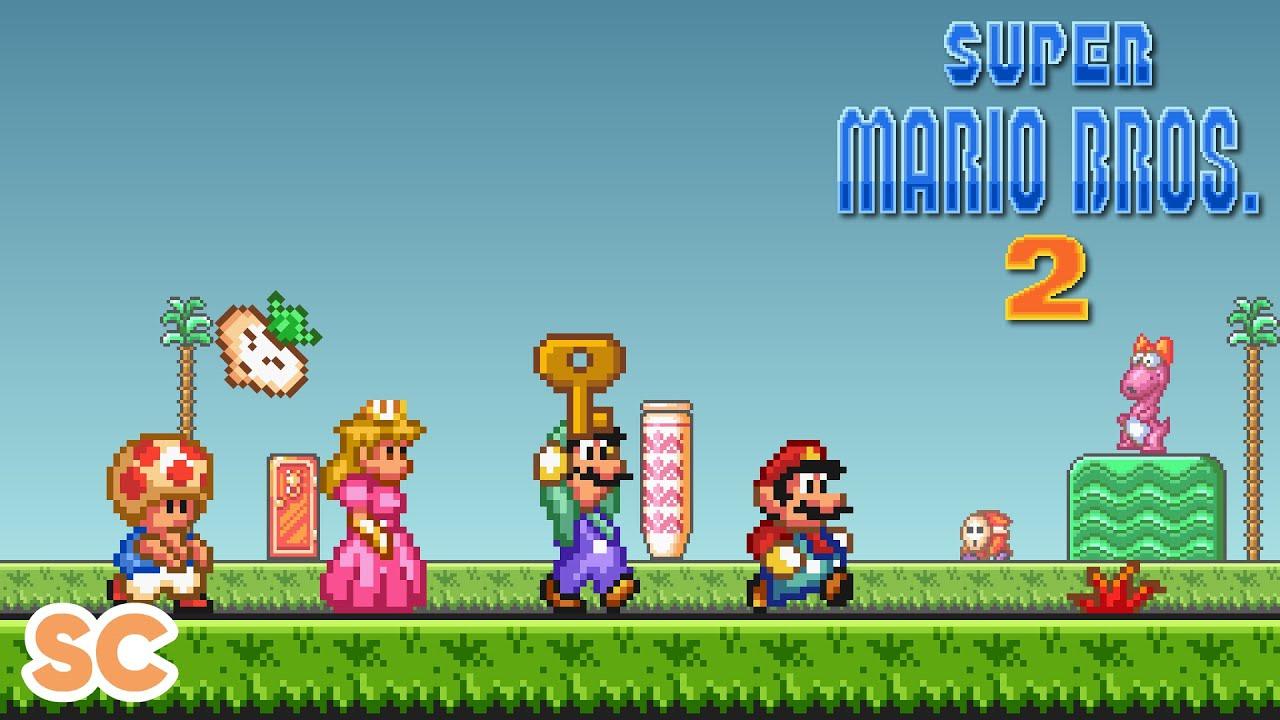 Super Mario Bros 2 Usa Parody Youtube
