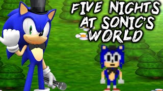 FNAS WORLD [FIVE NIGHTS AT SONIC'S WORLD - FNAF WORLD FAN-GAME]