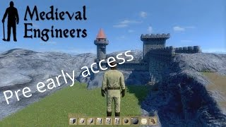 [fr] Medieval Engineers - Découverte De La Pre Early Access
