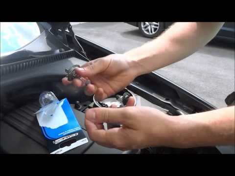 How To Change Headlight Bulb On A Volkswagen Jetta (2005-2010)