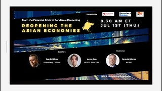 【Program】Reopening the Asian Economies with Bloomberg Opinion and HKTDC | Full Ver | Jul 1, 2021