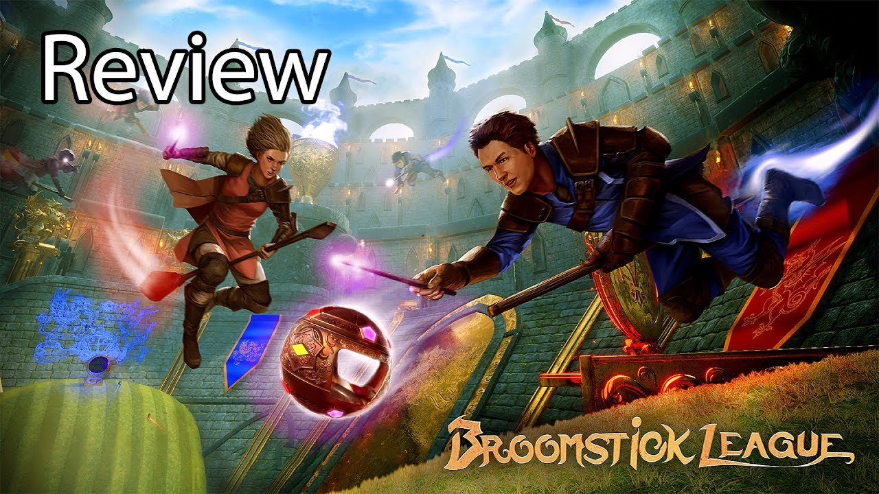 Broomstick League Gameplay Review Beta – Next Rocket League, Quidditch Game