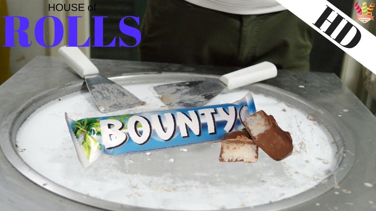 Ice cream rolls rolled ice cream bounty chocolate covered ice cream rolls rolled ice cream bounty chocolate covered coconut candy bar 1080p 60fps ccuart Images