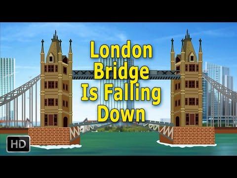London Bridge Is Falling Down Nursery Rhymes Popular Baby Songs