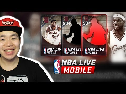 Massive First Edition Throwback Pack Opening - New Limited Time 97 Lebron - NBa Live Mobile