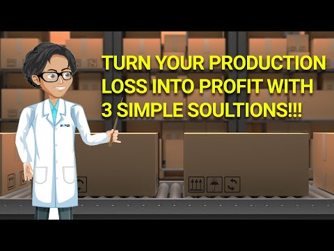 TURN YOUR PRODUCTION LOSS INTO PROFIT WITH 3 SIMPLE SOLUTIONS! Dr AMP Ep-5