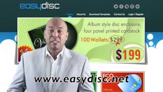 EasyDisc CD/DVD Duplication & Replication