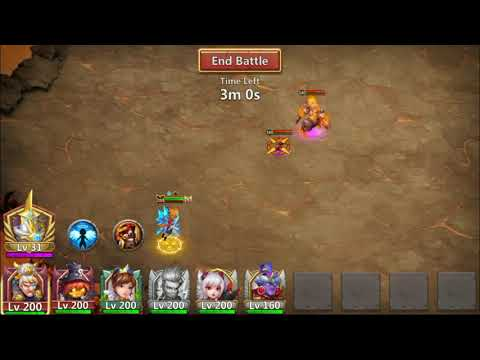 Castle Clash - Guild Boss Challange 2 Guide