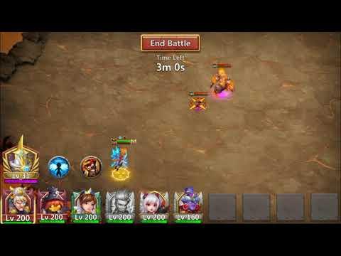 Castle Clash - Guild Boss Challange 2 Guide