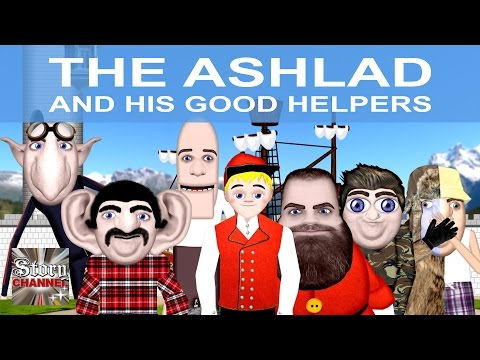 The Ashlad and his Good Helpers - Animated Fairy tales | Norwegian Folktales