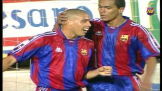 Las palmas - fc barcelona: previous matches