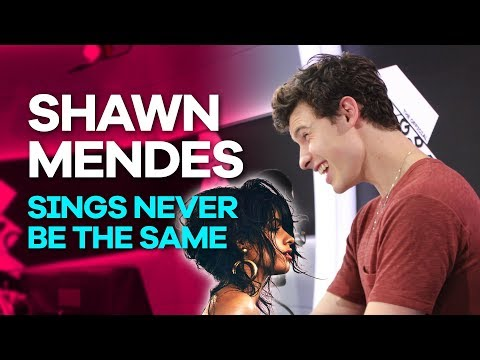Shawn Mendes absolutely nails Never Be The Same by Camila Cabello