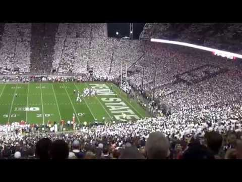 Penn State Student Section Noise Level.