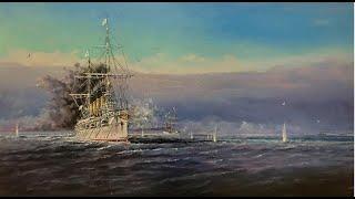 крейсер Варяг - взгляд со стороны японцев. Американский фильм 1904 года